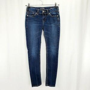 Silver Jeans Suki Mid Skinny Stretch P1248